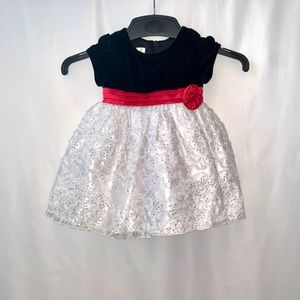 American Princess Baby Girl Sequin Dress Size 18M